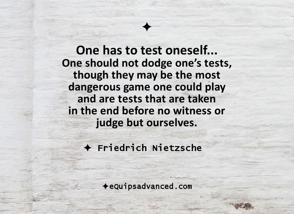 TestOneself-Nietzsche